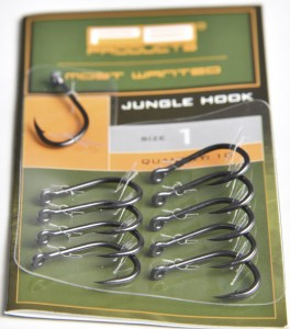 Jungle Hook DBF size 10 10szt haki karpiowe