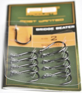 Bridge Beater Hook DBF size 4 10szt haki karpiowe