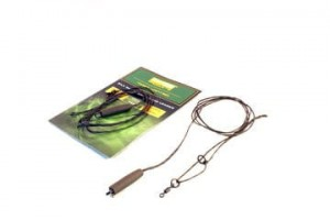 Silk Ray Hit & Run Chod Leader 90cm Gravel 2szt plecionka bez rdzenia