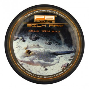 Silk Ray 45lb Gravel 10m leadcore bez rdzenia