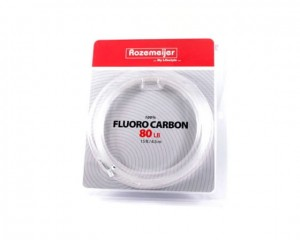 Roz. 100% Fluoro Carbon 80lb 15ft/4,5m